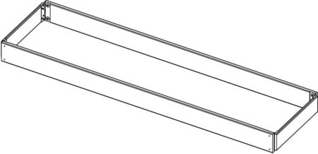altrex Fahrgerüst-Serie 4000 Bordbrett-Satz komplett 1.85x1.35