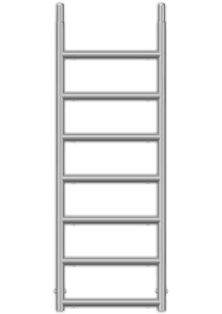 ALTEC AluKlik Vertikalrahmen | 2 Meter | 7 Sprossen | K00-VR-0007-7-0