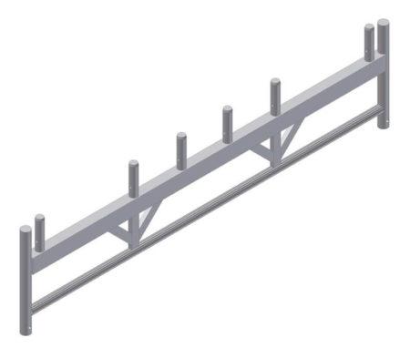 Albert Gerüste - Alu-Rahmenfahrbalken 2,50m - 6356