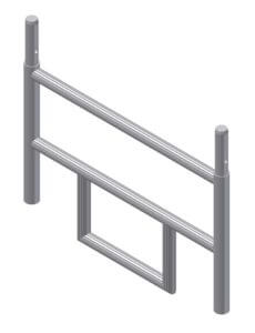 Albert Gerüste - Rollgerüst-Anfangsvertikalrahmen 0,45m x 0,85m - 6326