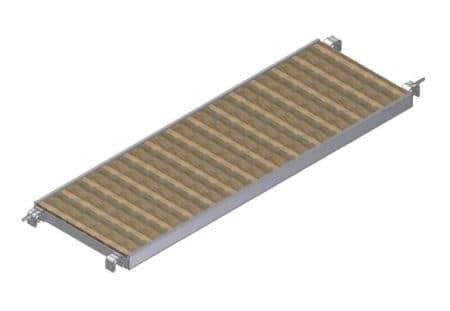Albert Gerüste - Rollgerüst Belagbühne ohne Durchstieg 1,90m x 0,60m - 2335