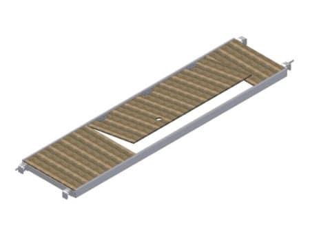 Albert Gerüste - Rollgerüst-Belagbühne mit Treppendurchstieg