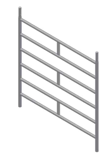 Albert Gerüste - Fahrgerüst-Vertikalrahmen 2,00m x 1,50m - 6322