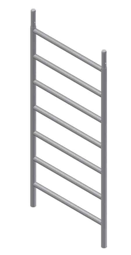 Albert Gerüste - Fahrgerüst-Vertikalrrahmen 1,75 x 0,71 m - 2424
