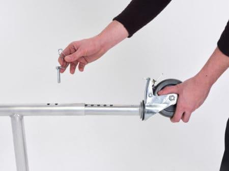 Altrex Klappgerüst – Fahrgerüst 3400-Rolle
