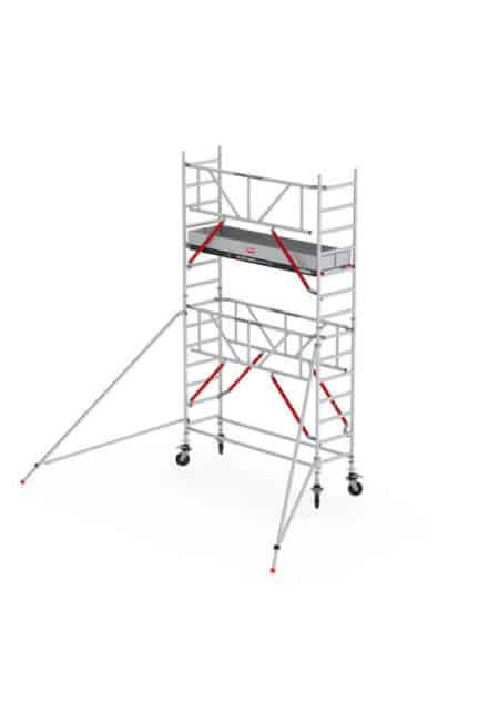 Altrex-RS-51-FahrGerüst-AH 520-SafeQuick-Fassade-frei