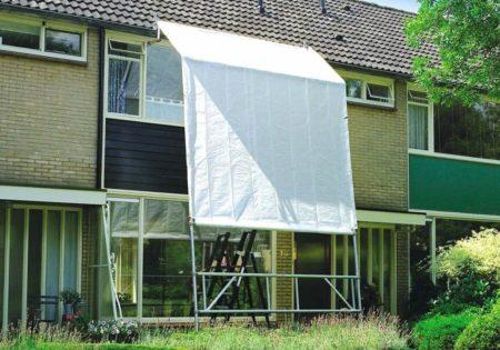 Altrex Wetterschutzsystem - Zelt | bei Wind und Wetter 2