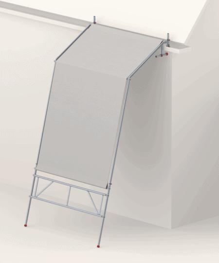 Altrex Wetterschutzsystem - Zelt | bei Wind und Wetter