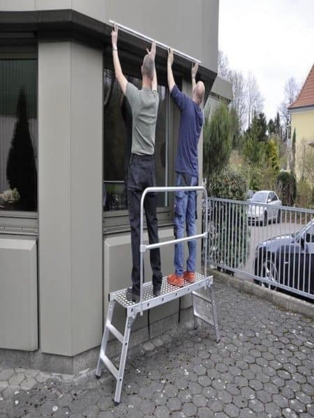 Euroline Geländer für Arbeitsplattform, Nr. 839 | 8390001