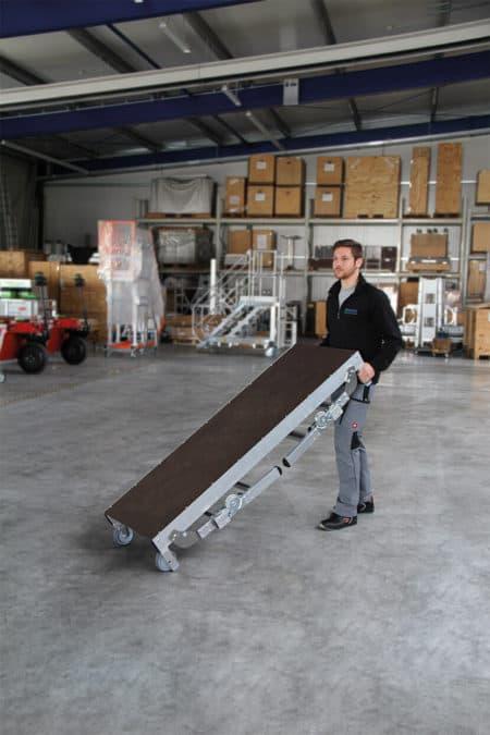 Günzburger Steigtechnik ML Maschinenpodest höhenverstellbar-5