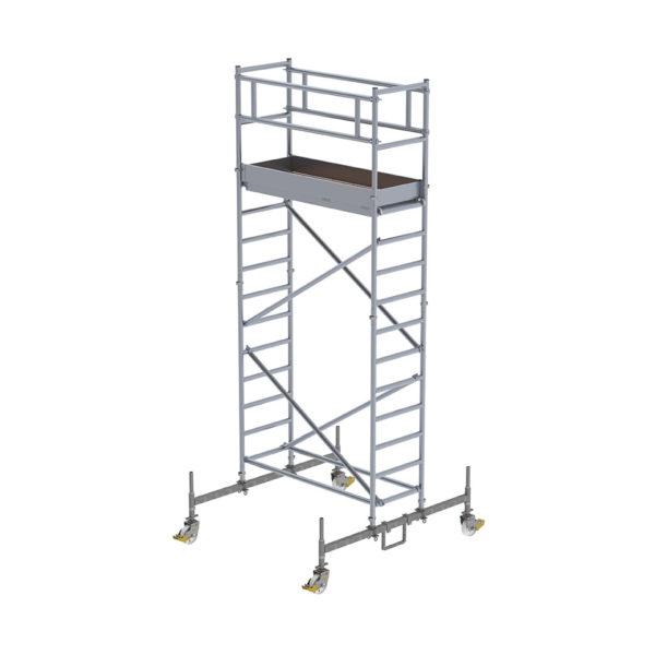 Günzburger-Steigtechnik-RollGerüst-mit-Fahrbalken-5,50m