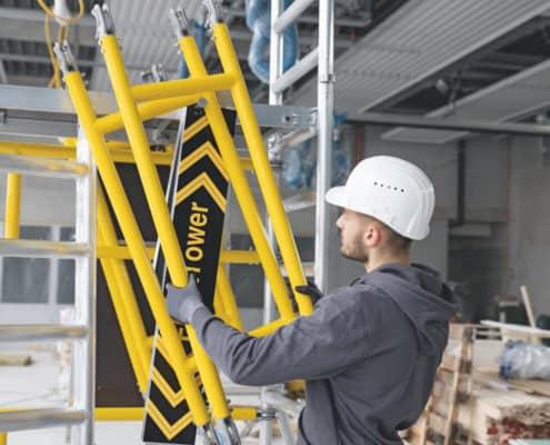 Günzburger Steigtechnik Ein-Personen-Gerüst 10