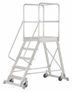 Hymer 6888 Podesttreppe fahrbar - einseitig begehbar