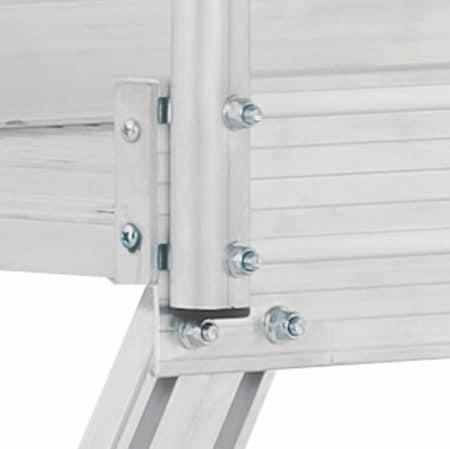 Hymer 6889 Podesttreppe fahrbar - beidseitig begehbar