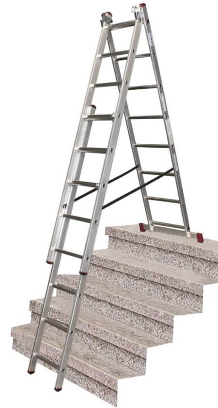 KRAUSE CORDA Vielzweckleiter mit Treppenfunktion 1