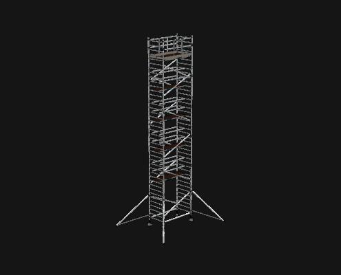 Steigtechnik Systeme - RollGerüst 135er Dickerchen mit einer Arbeitshöhe von 13.20 Meter
