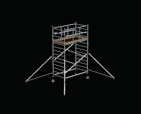 Steigtechnik Systeme - RollGerüst 135er Dickerchen mit einer Arbeitshöhe von 5.20 Meter