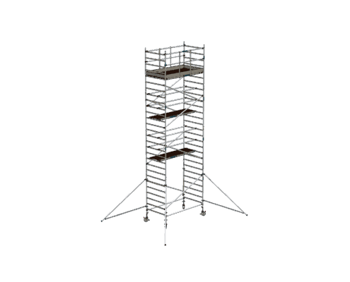 Steigtechnik Systeme - RollGerüst 135er Dickerchen mit einer Arbeitshöhe von 9.20 Meter
