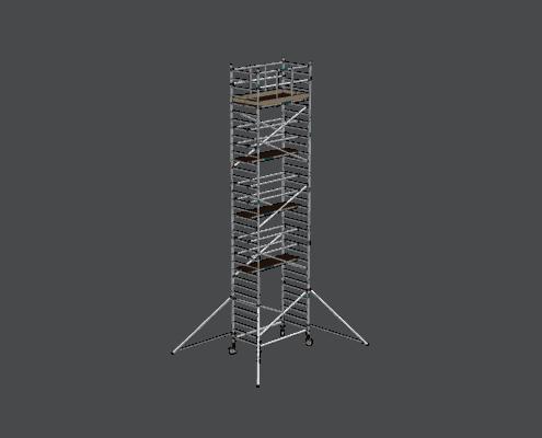 Steigtechnik Systeme - RollGerüst 135er Dickerchen mit einer Arbeitshöhe von 11.20 Meter