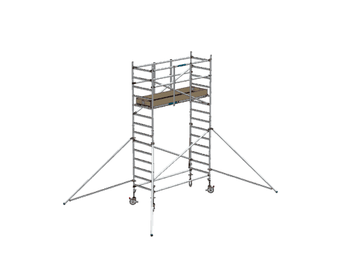 Steigtechnik Systeme - RollGerüst 90er Favorit mit einer Arbeitshöhe von 5.20 Meter