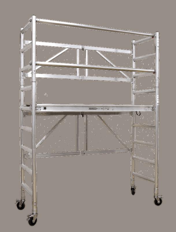 Steigtechnik Systeme - Express - das KlappGerüst mit einer Arbeitshöhe von 3.80 Meter