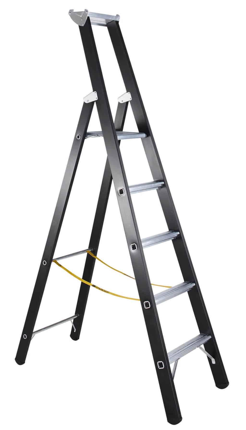 ZARGES Holz-Stehleiter 2 x 8 Sprossen Z600