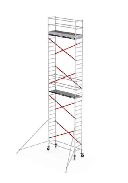 altrex RS 51 Tower - FahrGerüst | 1.85 x 0.75 | Holz-Plattform - 10,20m