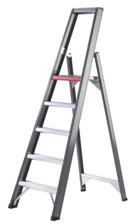 altrex stufenleiter falco einseitig begehbar