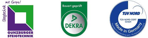 günzburger steigtechnik tankwagenleiter rund