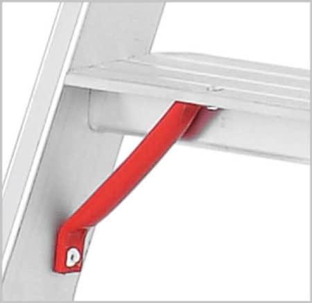 Hymer Stufen-Stehleiter 4024 - beidseitig begehbar