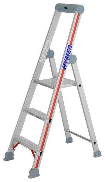Hymer Stufen-Stehleiter 4026 - einseitig begehbar