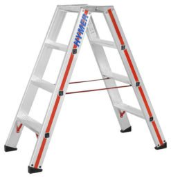 Hymer Stufen-Stehleiter 8024 - beidseitig begehbar