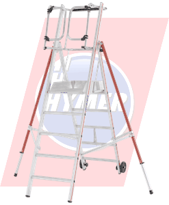 Hymer Plattform-Leitern & Podest-Treppen