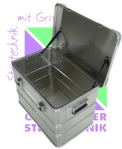 Günzburger Steigtechnik Aluminium Transportkisten