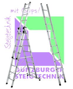 Günzburger Steigtechnik Sprossen-Leiter