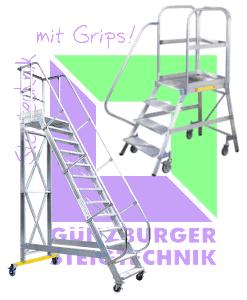 Günzburger Steigtechnik - Podestleiter