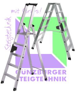 Günzburger Steigtechnik - Stufen-Leiter