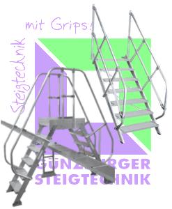 Günzburger Steigtechnik - Treppe | Überstieg