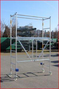 ALBERT Alu-Fahrgerüst Typ 2400 Klappgerüst - Faltgerüst - Zifa
