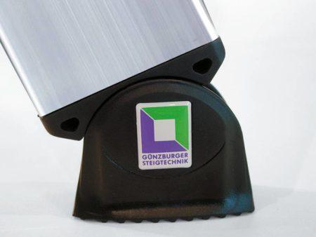 Günzburger Steigtechnik Aluminium Anlegeleiter