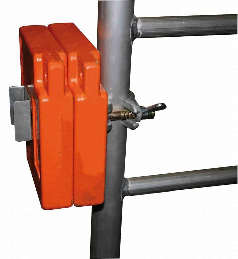 Krause Gerüst-Ballasthalter für Vertikalrahmen