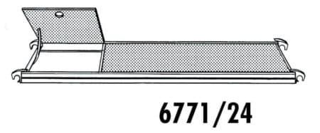 Hymer Gerüst-Bühne mit Durchstieg 2.40 x 0.65