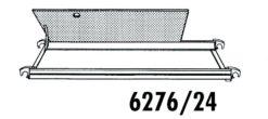 Hymer Gerüst - Bühne mit Durchstiegsklappe