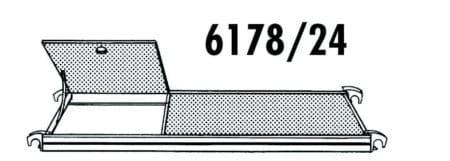 Hymer Gerüst-Bühne mit Durchstieg 1.90 x 0.65
