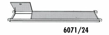 Hymer Gerüst-Belag mit Durchstieg 2.95 x 0.65