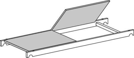 Hymer Gerüst-Bühne mit Durchstieg 1.58 x 0.61