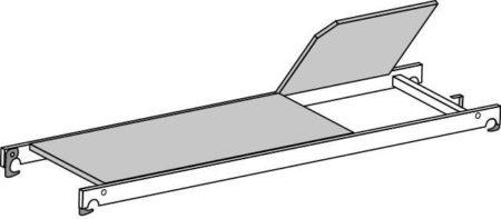Hymer Fahrgerüst - Bühne mit Durchstieg 709524
