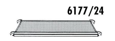 Hymer Gerüst - Bühne ohne Durchstieg 1.90 x 0.65
