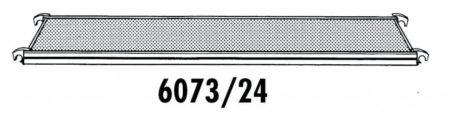 Hymer Fahrgerüst - Bühne ohne Durchstieg 607324