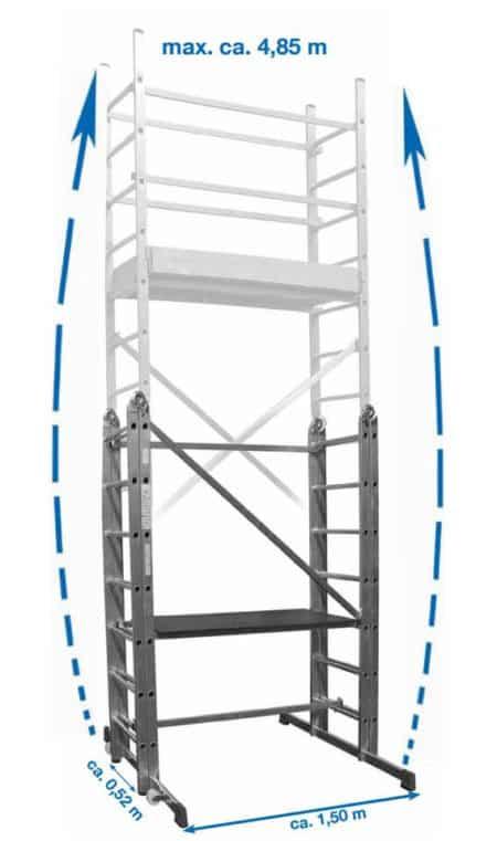Krause CORDA® Gelenkgerüst - LeiterGerüst